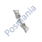 Универсальный ценникодержатель с двумя прищепками