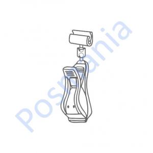 Ценникодержатель поворотный с зажимом на трубу