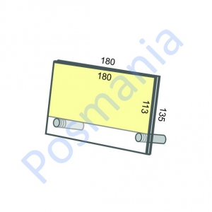 Акриловая рамка настольная на дистанционных держателях