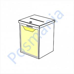ящик для пожертвований и анкет